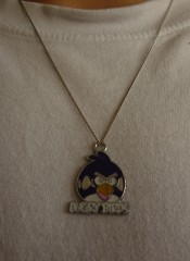 Pendentif, Angry Brids, enfants